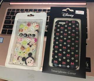 Tsum tsum and Minnie iPhone 6 casings