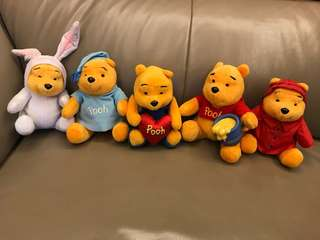 Winnie the Pooh 5 pieces