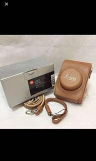 BNIB 18727 Leica Genuine Leather Case DLux 6