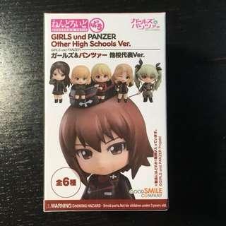Girls and panzer anime figure petite nedoroid