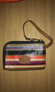 Authentic Fossil Wristlet