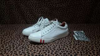 Bally Asher Leather White Sneaker Branded Second sepatu bekas