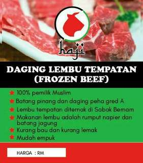 Daging Lembu Tempatan (Frozen Beef)