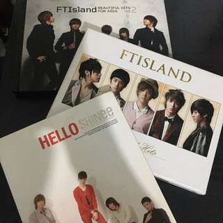 🚚 韓團SHINNE FTISLAND 專輯3張400$