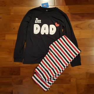 Pyjamas Love Dad (utk dewasa)