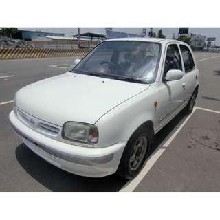 1999年amarch 1.3五門女用小車 便宜省稅金