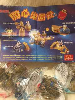 絕版 麥當勞 開心樂園餐玩具一套