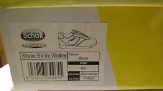 Scholl stride walker