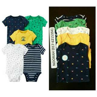 ORIGINAL CARTERS BABY ROMPER SET