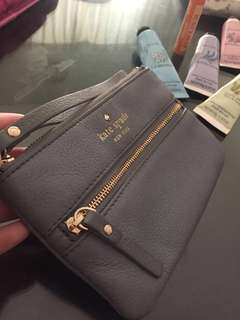 Kate Spade GENUINE LEATHER wristlet