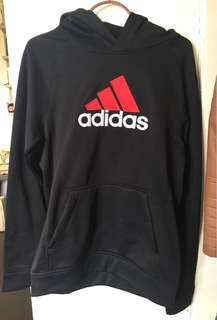REPRICED ADIDAS Climawarm Sweater with Hoodie