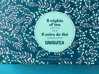 Organic 8 Nights of Tea (DavidsTea) 有機DavidsTea茶包