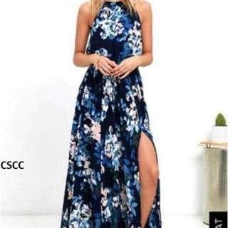 U.S. floral maxi dress