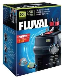 Fluval 206 external filter canister