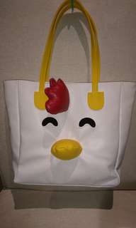 Cute chicken bag