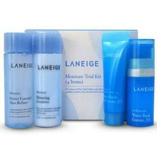 Laneige moisture trial kit