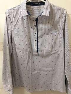Mango blue long sleeves