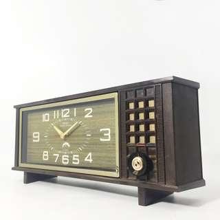 Vintage 70s Seiko Corona Melodia Music Alarm Clock (SMC_01-0318-38)