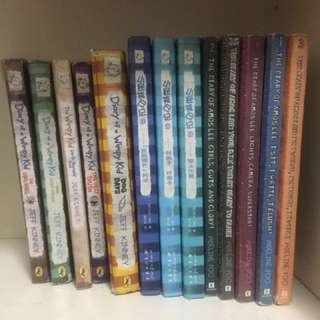 Diary of Amos Lee & Diary of A Wimpy Kid (13 books)