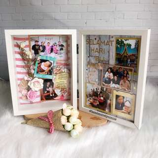 Personalised 2-tiers 3D Photo Frame (Mother's Love)
