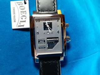 """Boegli ~ Since 1904, musical watch, new, 全新瑞士""""寶麗""""音樂機械錶 Swiss made ,automatic with papers, hang tag and original box"""