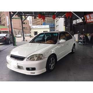 2000年honda k8 1.6喜美 四門自排