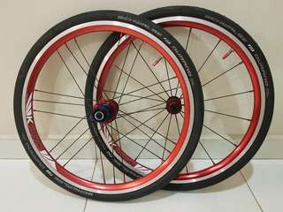 Litepro Kpro Ultralite 20inch wheelset
