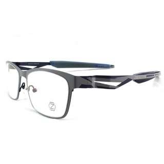 【ZEEN】Zeal 日本製 全新 灰色 不鏽鋼金屬眼鏡鏡框