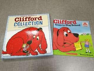 Clifford 大紅狗6書合輯 + 1本