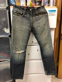 W29 Levi's WH505 白色皮牌牛仔褲😎記得follow 我。