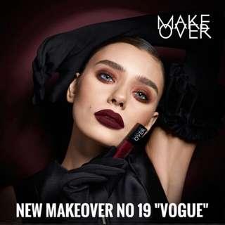MAKE OVER intense matte lip cream no 019