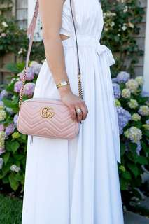 Gucci sling bag Pink