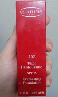 Clarins Teint Haute Tenue Everlasting Foundation