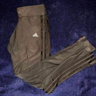 Black Adidas Training Tights
