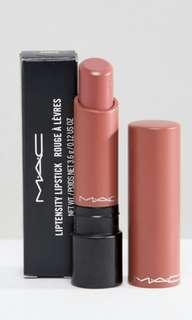 Mac liptensity lipstick in Smoked Almond