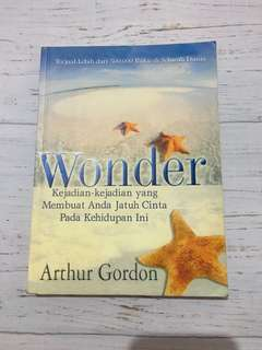 [Book] Wonder by Arthur Gordon