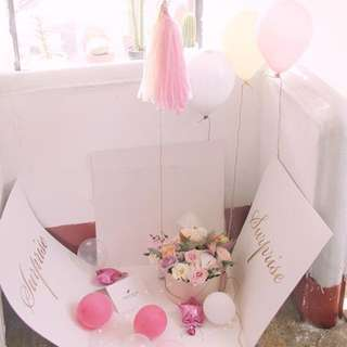 Affordable cheapest budget Birthday / valentine day / wedding / surprise gift box