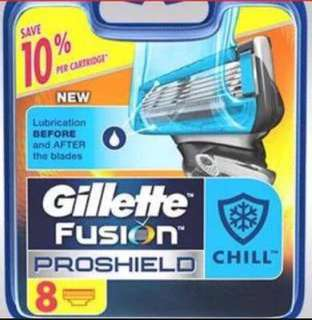 Gillette Fusion Proshield chill