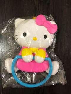 全新珍藏日本Hello kitty 毛巾架