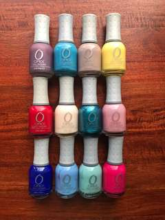 10 Orly Nail Polish Bundle