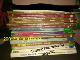 SENIOR HIGH BOOKS. GR11 GR12