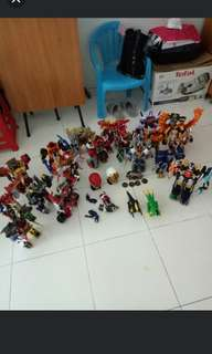 SALE Power Rangers Megazords