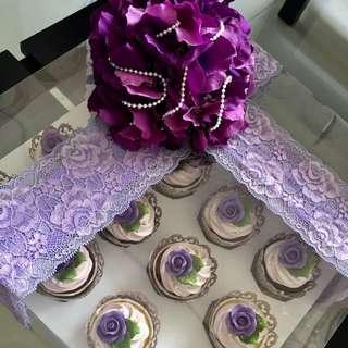 Hantaran Purple Theme