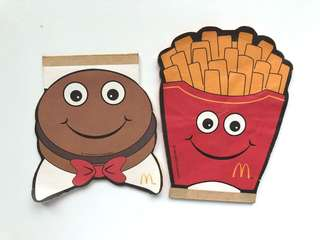 Fries & Burgers Cute Notebook (Taiwan)