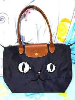 Longchamp Miaou 貓袋