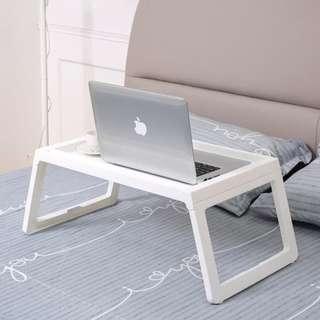 Meja laptop (bukan produk ikea klipsk bed) - grey