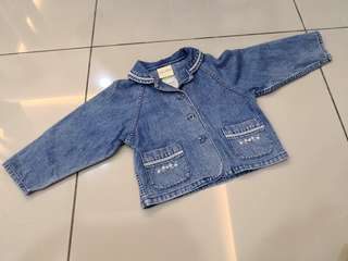 Laura Ashley Denim Outwear (2-3y)