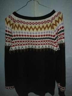 Sweater bahan rajut pria