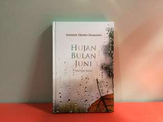 Hardcover - Hujan Bulan Juni Sapardi Djoko Damono