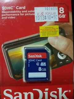 8GB SDHC Card